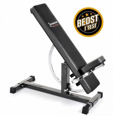 Ironmaster Super Bench – Justerbar træningsbænk (Bedst i test)
