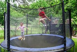 trampolin mål