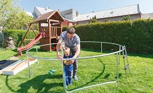 trampolin god kvalitet