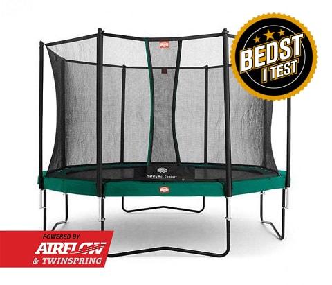 Berg Champion trampolin bedst i test